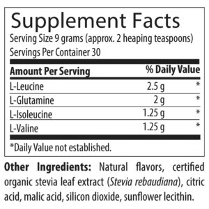 BCAA Powder with L-Glutamine | NewGen Physical Therapy Guam